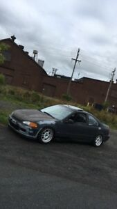 1993 Civic Si coupe B18c Spec r swapped