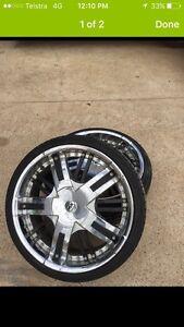 Mag wheels for Toyota hiace Singleton Singleton Area Preview