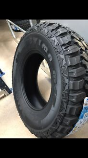 New 265/75/16 mud terrain tyres