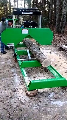 New-lumber Maker 2019 Fully Complete 7hp 301cc Portable Sawmill Saw Mill