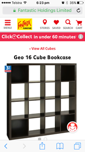 Bookcase -16 cube - great as a showcase for lounge too Kedron Brisbane North East Preview