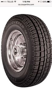4 Winter tires. Lt275/70R18