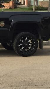 """22"""" Rims on 33"""" rubber"""