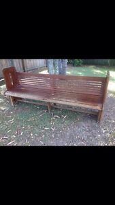 !!!!!!!!!! Church pew 1950,s !!!!!!!!!!! Mermaid Beach Gold Coast City Preview