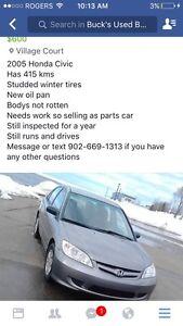 NEED GONE 2005 Honda Civic 5spd