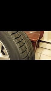 4 Dunlop winter tires