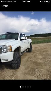 Lifted Chevrolet 1500 Silverado
