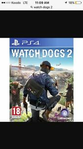 Watch dogs 2 10/10 condition