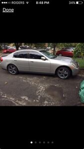 2003 Infiniti g35 part out