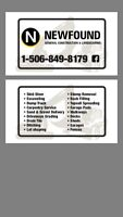 Excavation and carpentry services