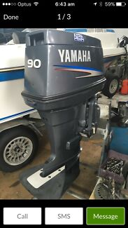 90hp Yamaha 2009 model