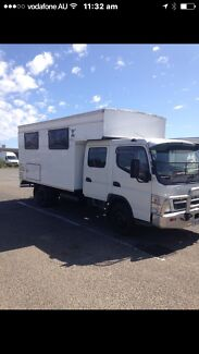 2007 Fuso camper 15.500 if gone today
