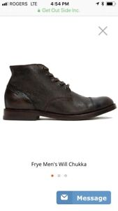 FRYE - MEN'S WILL CHUKKA - BNIB - sz 11.5