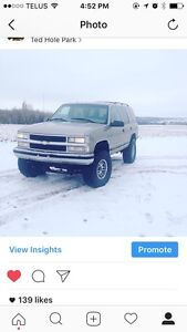 1999 Tahoe lt fully loaded *reduced*