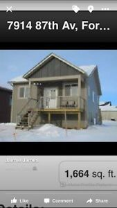 House for Sale or Rent in Fort St John