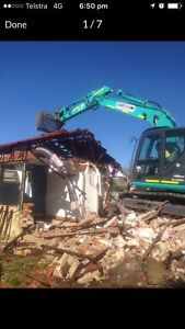 Bobcat & tipper hire / Demolition (FREE QUOTES) Ascot Belmont Area Preview
