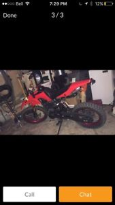 200cc lifan dirt bike. MUST GO ASAP