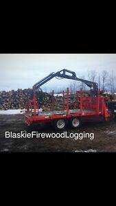 FIREWOOD LOGS 14ft lengths Pure Hardwood FREE delivery