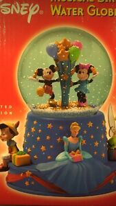 Limited Edition Disney Musical Birthday Water Globe