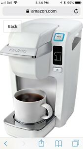 White mini Keurig