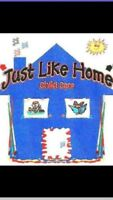Just Like Home Childcare NE Pineridge & Surrounding Communities