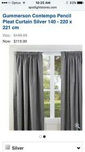 2 sets Pencil Pleat Curtains BRAND NEW Never used Kedron Brisbane North East Preview