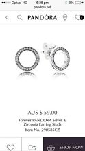 Pandora sterling Silver and Cubic Zirconia earrings Alderley Brisbane North West Preview