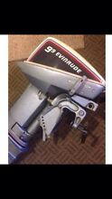9.9 evinrude outboard Chelsea Kingston Area Preview