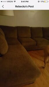 Large comfy couch!