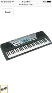 Yamaha PSR-170 61-Key Portable Keyboard/ Electric Piano & Stand