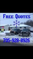 Got Snow? Free Plowing or Sanding Quotes
