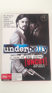 Underbelly DVD. A tale of two cities Green Point Gosford Area Preview
