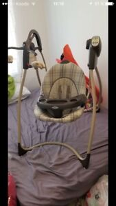 Balancoire electrique pour bebe