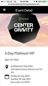 PLATINUM VIP CENTER OF GRAVITY!