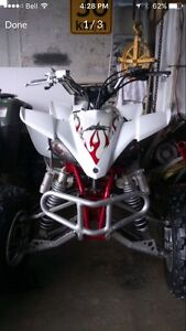 Mint condition Yamaha yfz 450 lots of upgrades  sell or trade