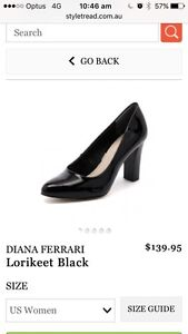 Diana Ferrari Leather Heels (worn only twice) RRP $140 Cronulla Sutherland Area Preview