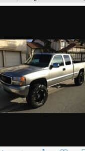 Looking for a 4x4 gmc or chev ext cab