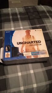 Almost brand new uncharted ps4
