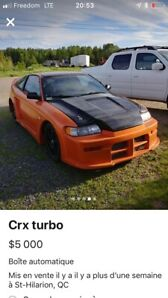 Crx turbo