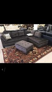 •••••Lexus Sectional With Ottoman Sale••••••