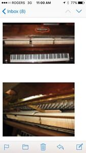Schaffer and Sons piano