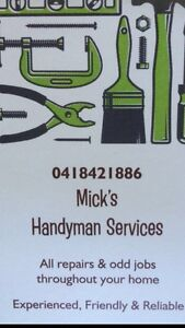 Mick's Handyman Services Warners Bay Lake Macquarie Area Preview