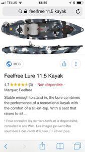 Kayak de pêche Feel free