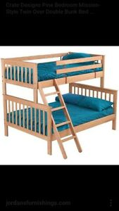 Crate and Design Bunk Bed London Ontario image 1