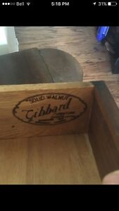 Gibbard  sewing table