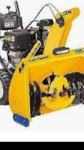 Snow blower repairs and service.