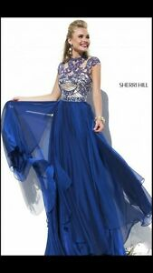Sherri Hill Royal Blue Dress London Ontario image 1