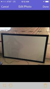 """120"""" High end fixed projection screen TRADE for motorcycle"""