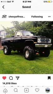 Looking for a chev truck