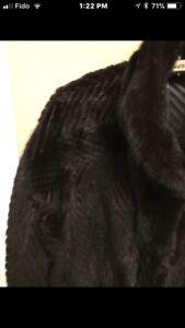 Harringbone Mink Coat, Extremely Hi Quality